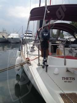 Thetis (beneteau Oceanis clipper)6921 13 m